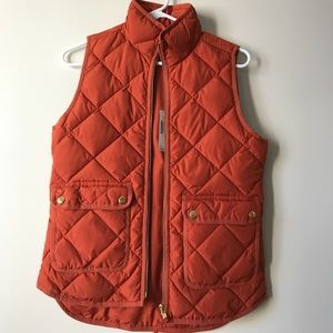 Brand new J.crew vest